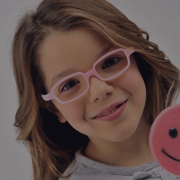 Miraflex Girls Eyeglasses New Baby 1 Size 39 14